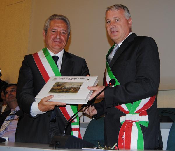 150° - Passaggio di consegne tra Castelfidardo e Ancona