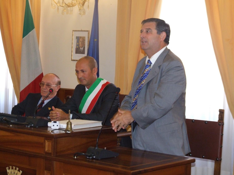 Visita di alte cariche dell'Arma dei Carabinieri