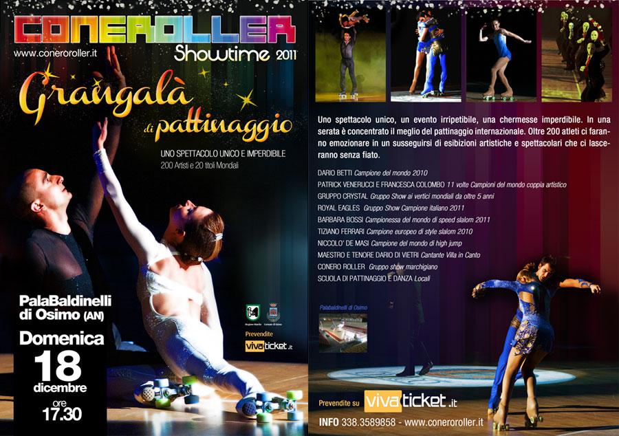 Conero Roller showtime al PalaBaldinelli domenica 18