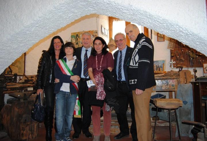 La visita di Silvia Tortora al Museo della fisarmonica