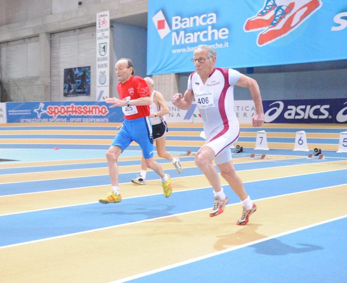Campionati d`atletica master al Palaindoor