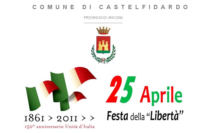 XXV Aprile dedicato all`Unità d`Italia