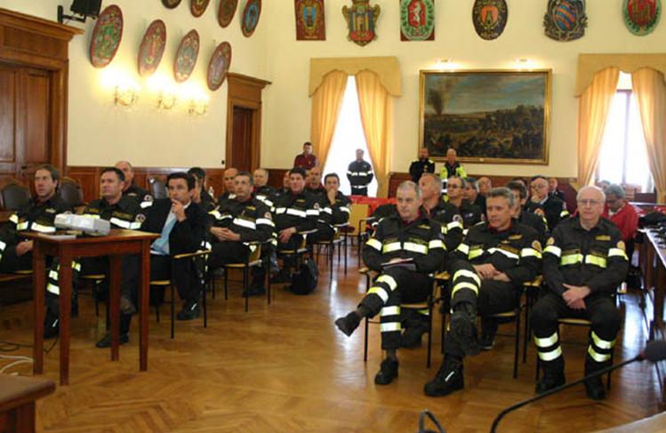 Vigili del fuoco, seminario al Salone degli Stemmi