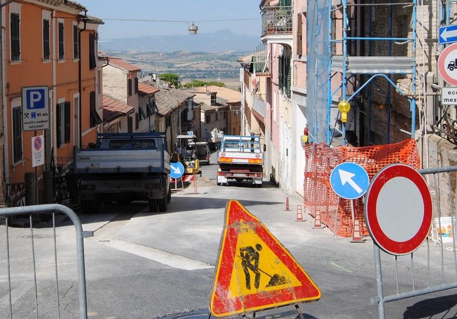 Borgo Cialdini, nuova conduttura idrica