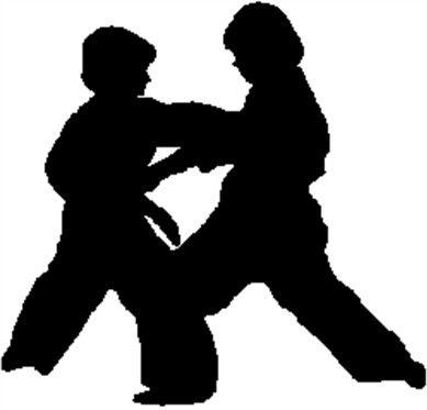 Giovedì, esibizione di karate al Parco del Monumento