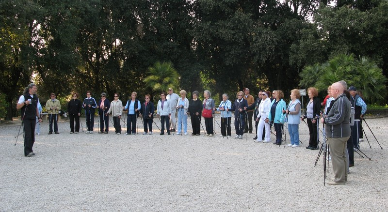 Nordic Walking, raduno regionale a Numana