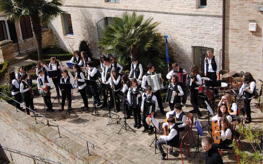 L`Orchestra Giovanile Castelfidardo a Numana