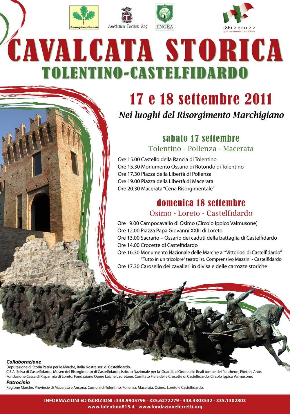Cavalcata storica Tolentino - Castelfidardo