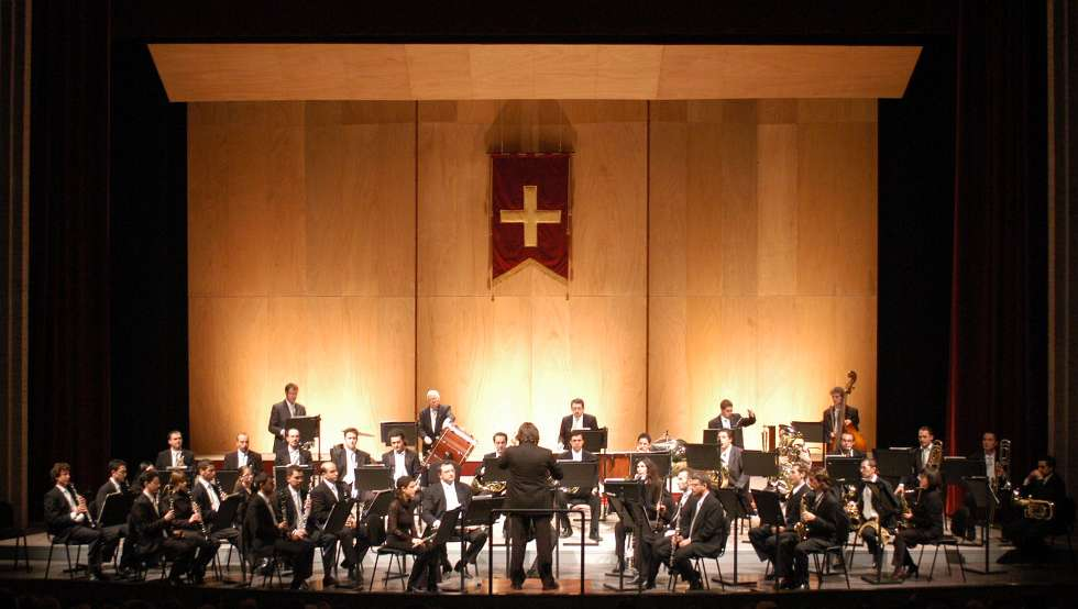 L`Orchestra di fiati di Ancona al Parco del Monumento