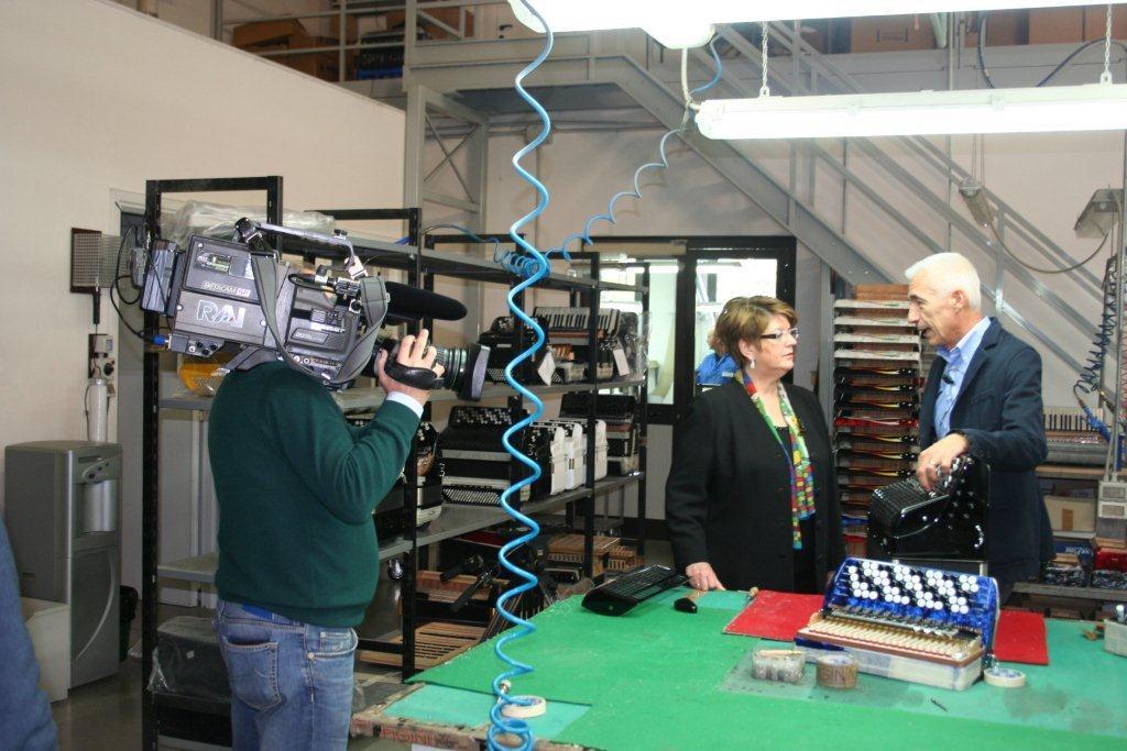Un documentario sulla fisarmonica su Rai3