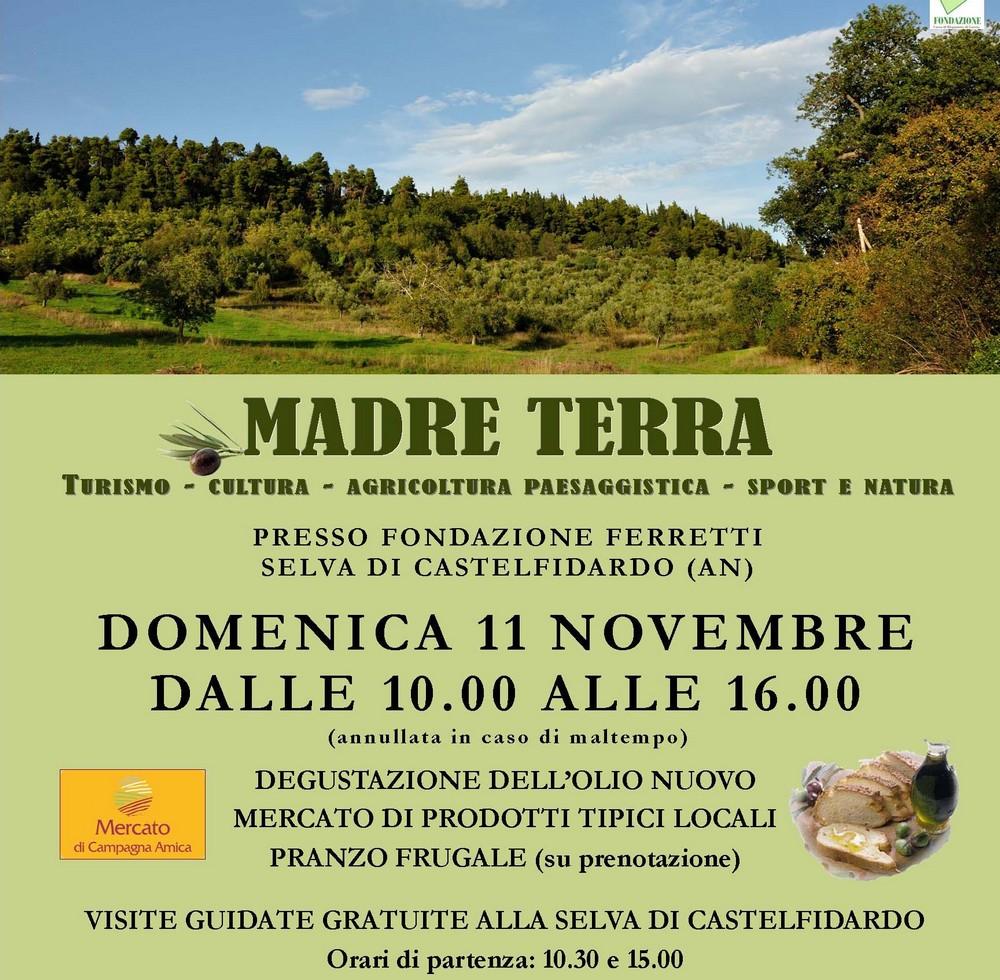 Domenica, madre terra con la Fondazione Ferretti