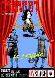 Perfide&Paola Frontini, cabaret al femmile all'OnStage