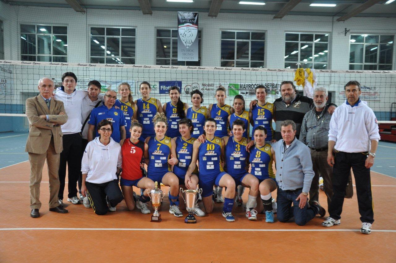 Volley, la Marche Metalli vince la Coppa Marche