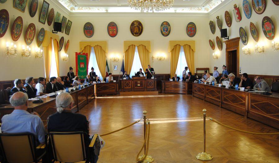 Convocazione Consiglio Comunale 24 aprile 2012