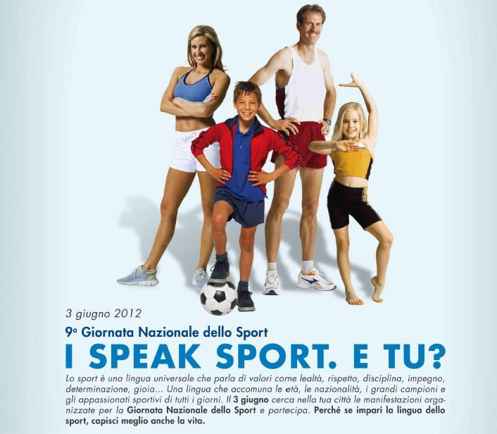 Giornata Nazionale dello Sport: si accende la fiaccola