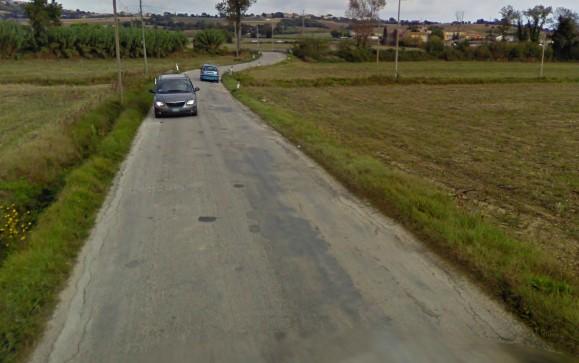Lifting per la traversa della via Jesina