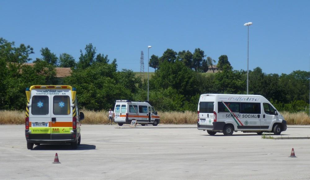 Croce Verde, corso di guida sicura in emergenza
