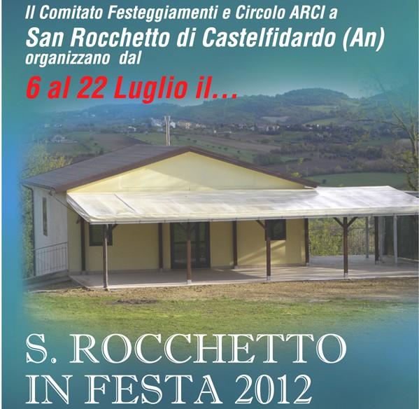 """San Rocchetto in festa"" da venerdì"