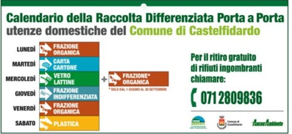 Crescono raccolta differenziata e controlli
