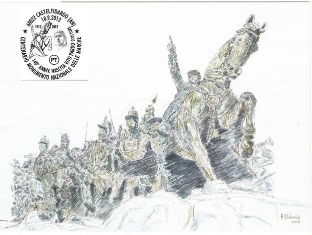 Un annullo filatelico per il centenario del Monumento
