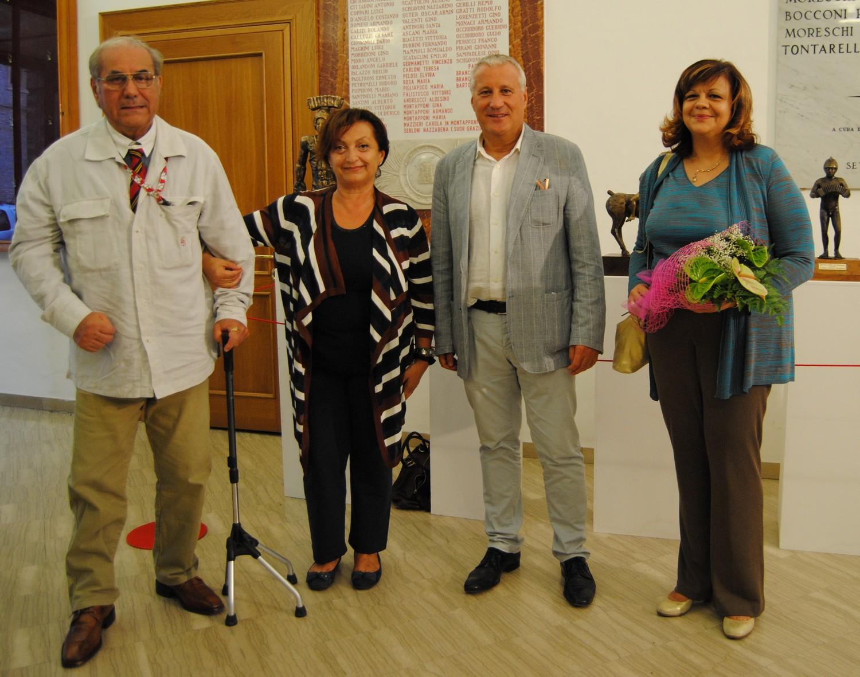 Inaugurata la mostra di Franco Campanari