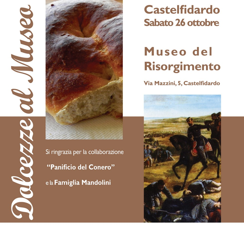 """""""Dolcezze al museo"""" del Risorgimento"""