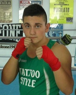 Boxing club ai campionati italiani junior con Serenelli