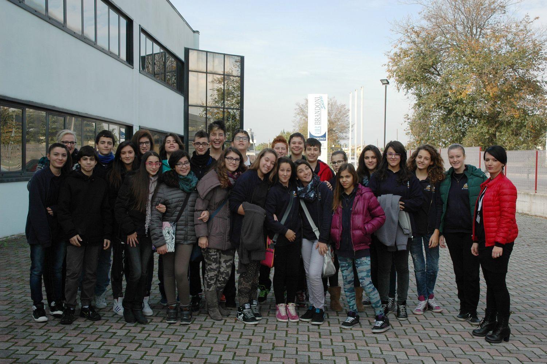Pmi day, studenti in visita al gruppo Brandoni