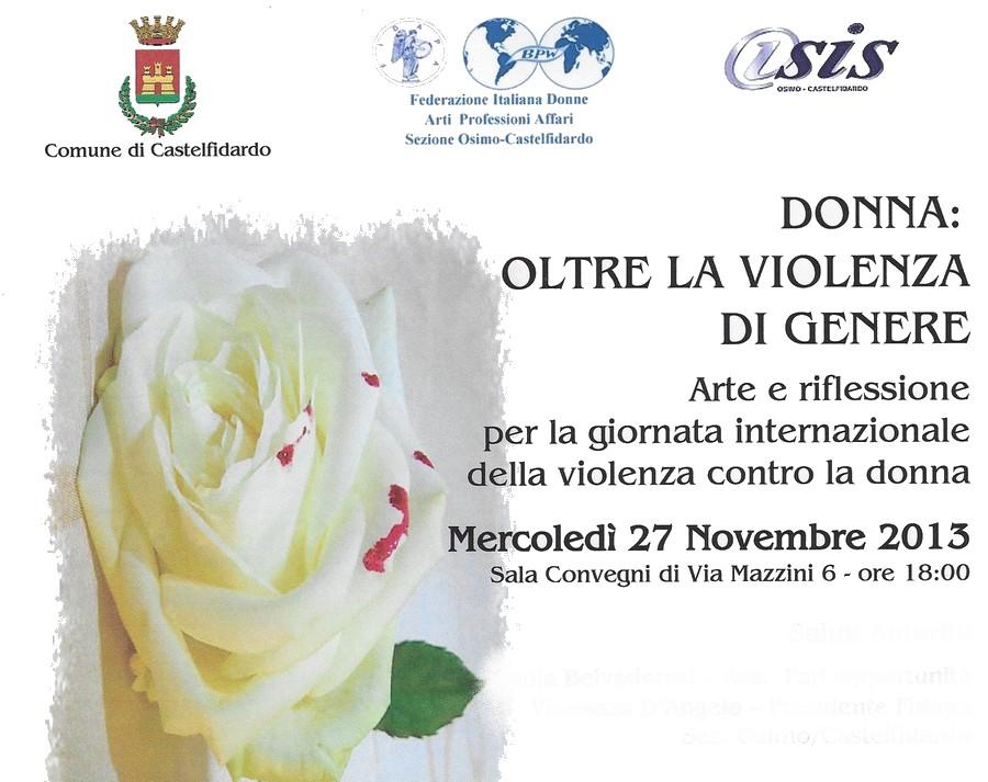 Donna: oltre la violenza di genere
