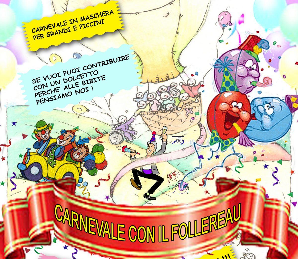 Il Carnevale del Follereau e quello Castellano