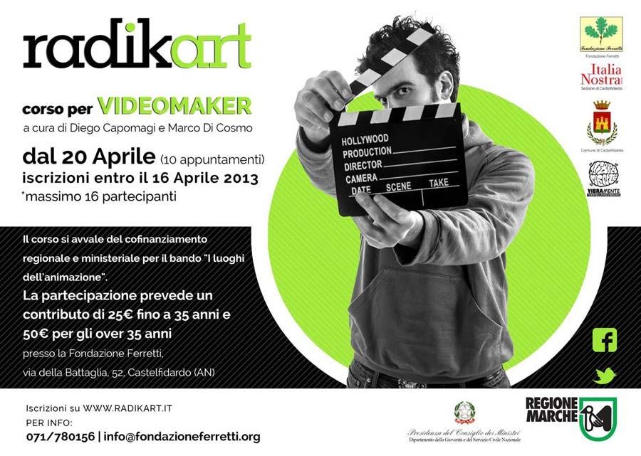 Corso per videomaker alla Fondazione Ferretti