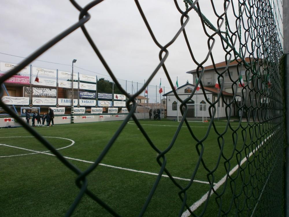 Inaugurazione campo di via Donizetti