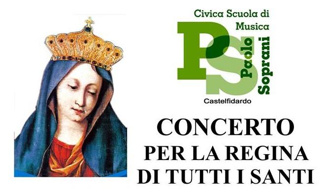 Regina di tutti i Santi, concerto in Collegiata