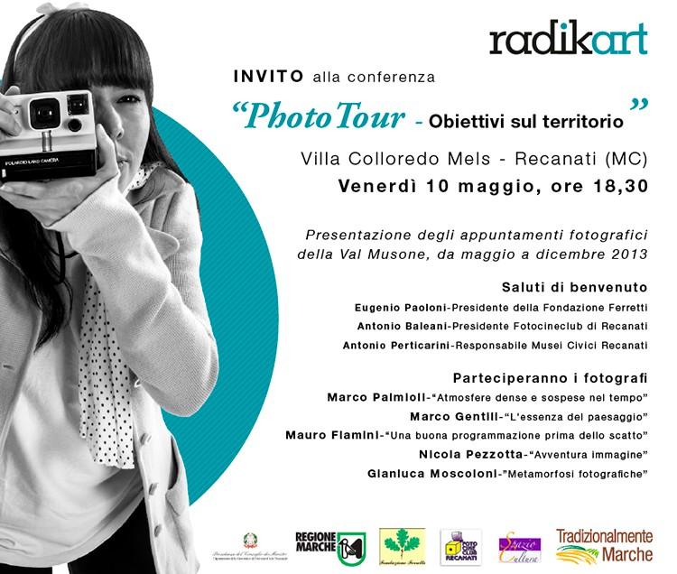 Photo Tour con Radikart, venerdì la presentazione