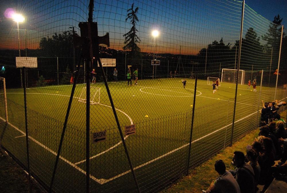 Al rinnovato campo della Badorlina, torneo in corso