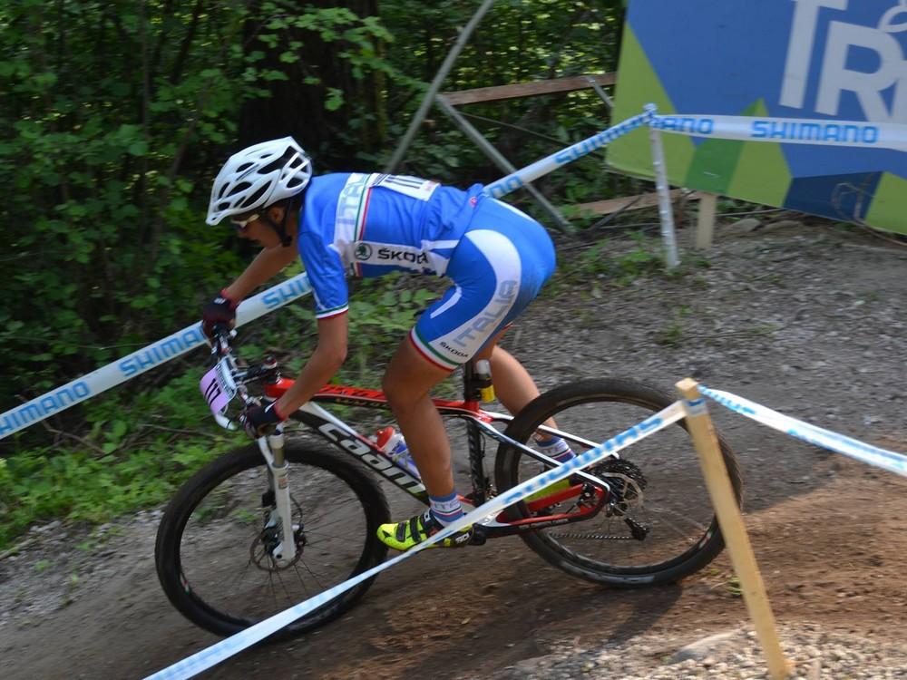 Elena Torcianti, positivo esordio in Coppa del mondo