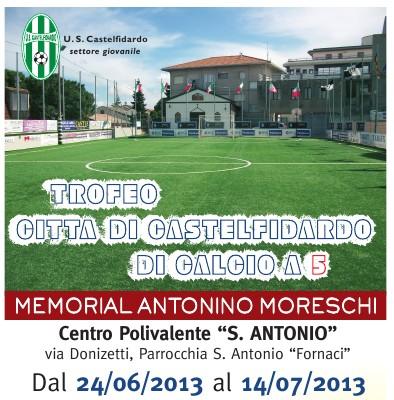 1° Trofeo Città di Castelfidardo Memorial Tony Moreschi