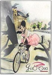 Bellezze in bicicletta, una cartolina per il GiroRosa