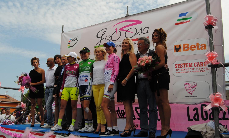 """Trofeo """"Il Monte ed il Castello per il Giro Rosa"""""""