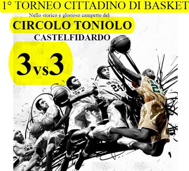 Circolo Toniolo, primo torneo cittadino di basket