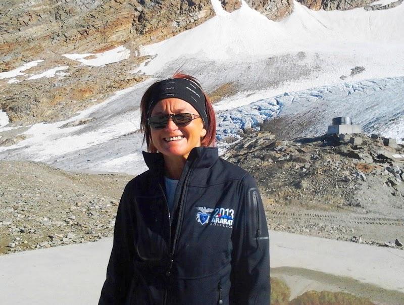 Paola Orlandoni alla conquista dell`Ararat con il CAI