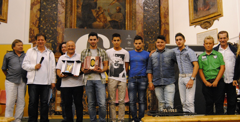 Marco Pomanti vince il concorso Nazionale di organetto