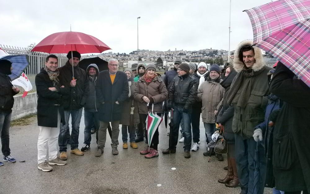 Vertenza Roal, Soprani e Pieroni con i lavoratori