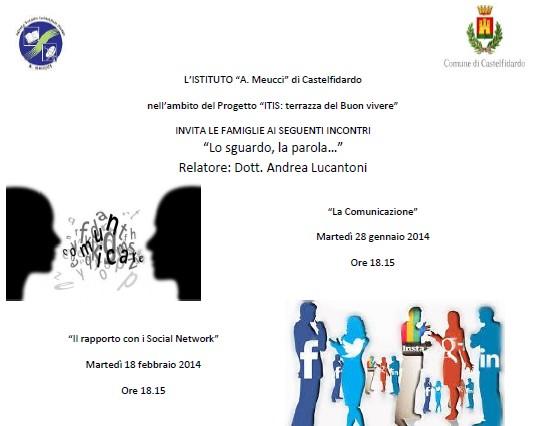 """""""La comunicazione"""", il prof. Lucantoni al Meucci"""