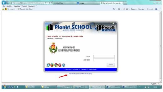 Ricarica on line per le mense scolastiche