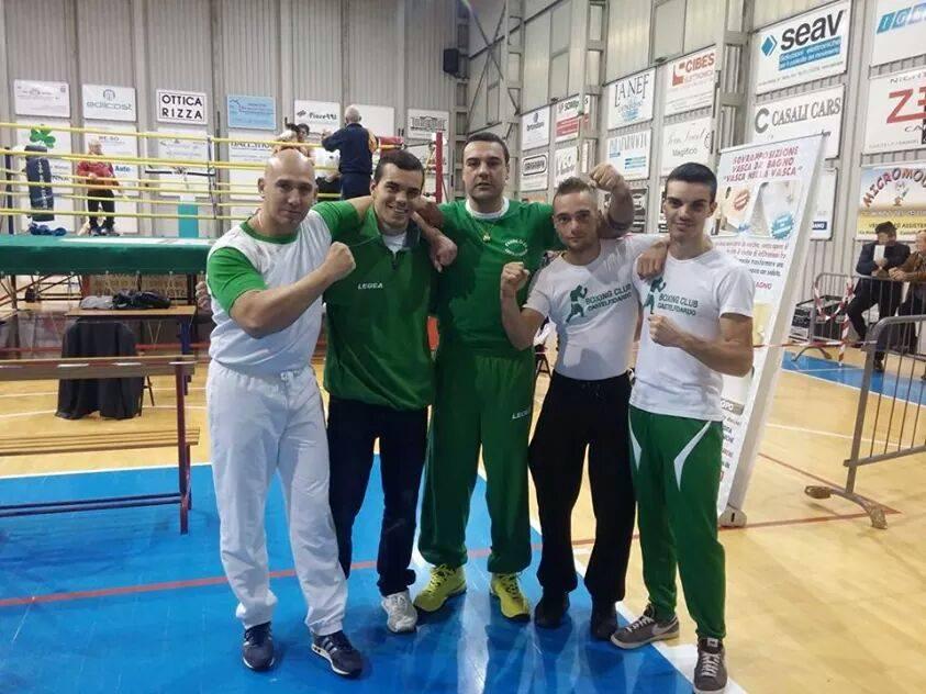 Boxing club, un trionfo sportivo e organizzativo