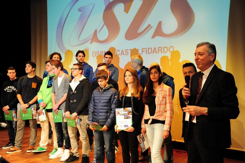 La Lube volley premia gli studenti del Meucci