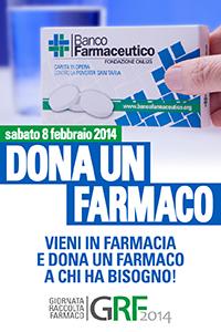 Sabato la giornata nazionale di raccolta del farmaco