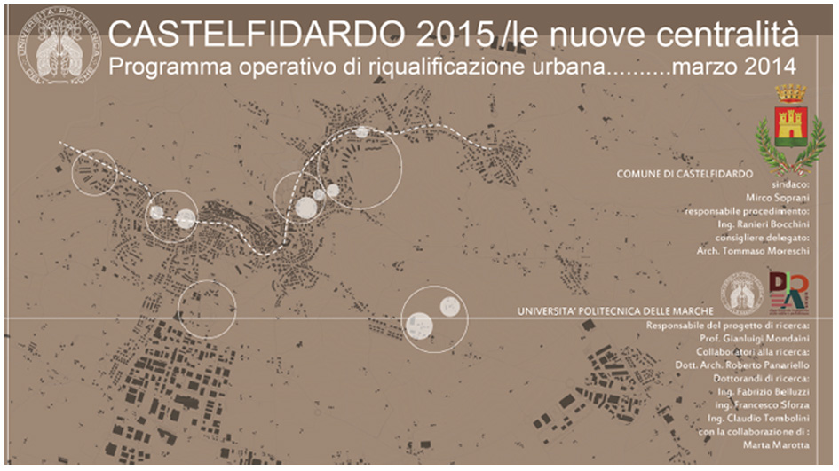 Castelfidardo 2015, le nuove centralità