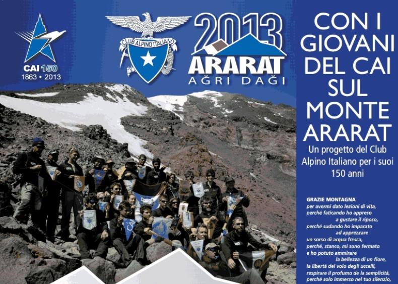 Le emozioni della spedizione Cai in vetta all'Ararat
